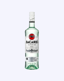 Bacardi White Rum 750ml