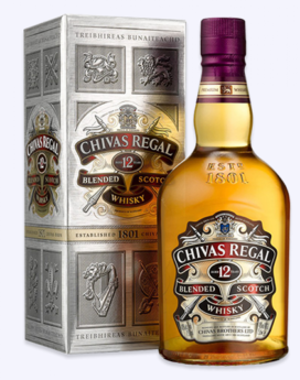 Chivas Regal Whiskey 12yr 1L