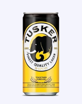 Tusker Lager Can 500ml