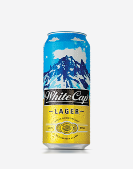 White Cap Can 500ml