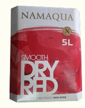Namaqua Smooth Dry Red Wine -5L